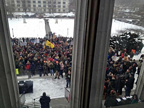 2nd Amendment Rally - February 23, 2013